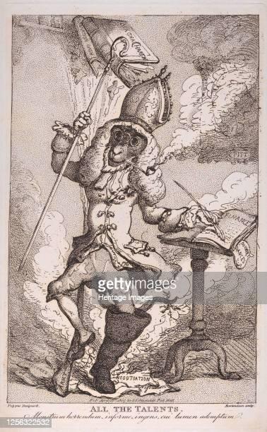 All the Talents, April 18, 1807. Artist Thomas Rowlandson.