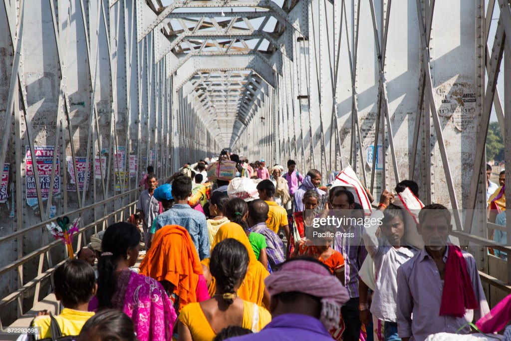 SONEPUR PATNA BIHAR INDIA All The Transportation Have To Be Called Off Due  To Overcrowded Roads