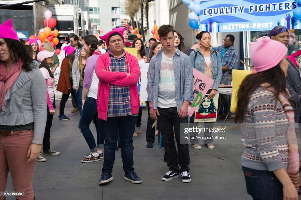 FAMILY - 'All Things Being Equal' - Gloria, Claire, Haley, Alex, Lily, Luke and Manny are equally committed to showing their support for gender equality and the women's movement in very different ways. Meanwhile, Jay and Phil are at odds on how their parking lot attendant, Joan (guest-star Niecy Nash), should be running their lot, and jealousy ensues when Pam prefers Mitchell's help over Cam's with her baby. 'Modern Family' airs WEDNESDAY, MAY 3 (9:00-9:31 p.m. EDT), on The ABC Television Network. RICO