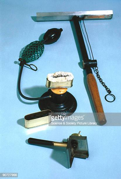 All three of these devices used burning magnesium powder to provide the light for photography This practice was widespread between the 1880s and the...