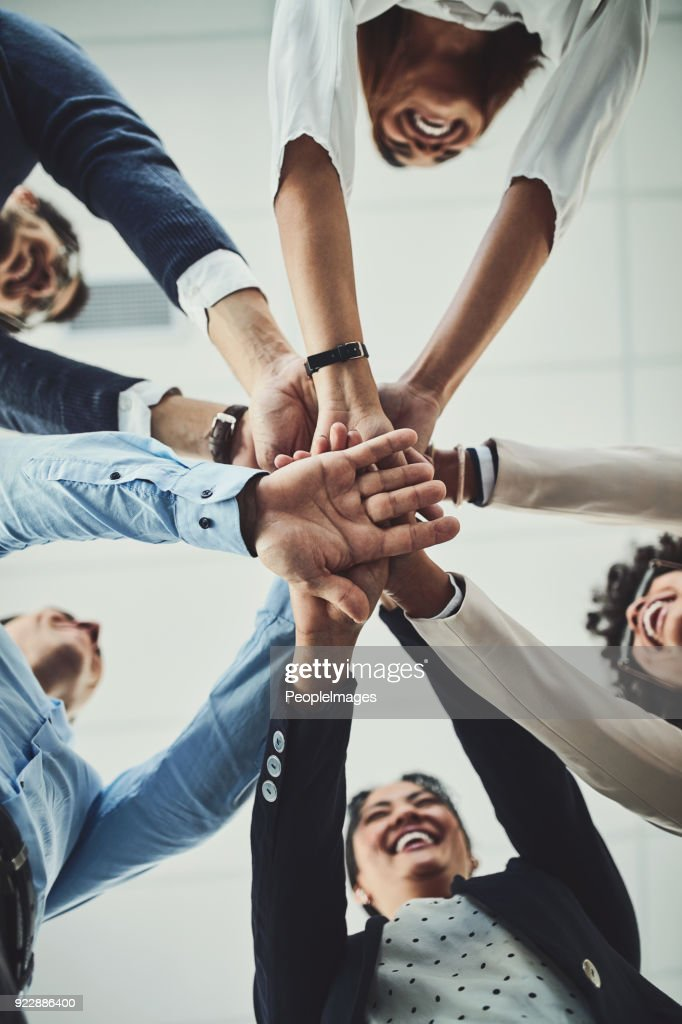 All together now : Stock Photo