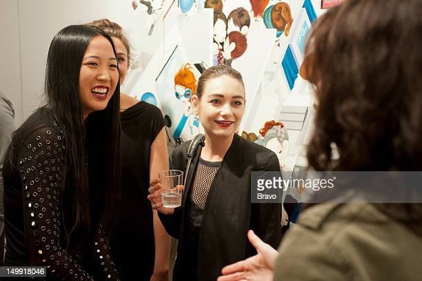 GIRLS All Tomorrow's Parties Episode 201 Pictured Angela Pham Chantal Chadwick