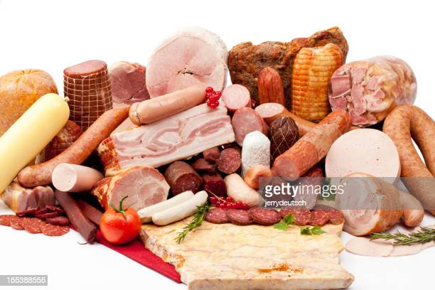 All types of deli meat