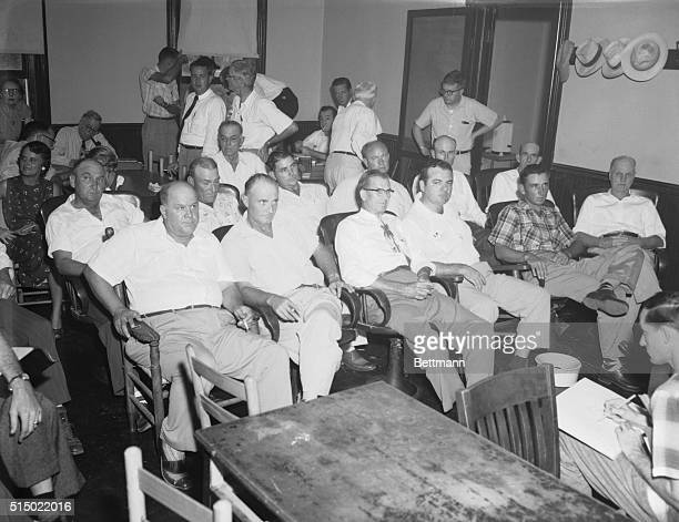 All White Male Jury for 'Whistle' Murder Trial Sumner Mississippi Here is the all white all male jury selected for the trial of Roy Bryant and his...