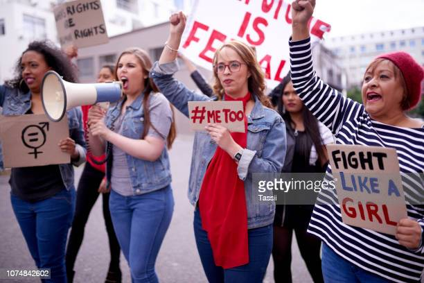 all women should take part, we are all part of this - demonstration stock pictures, royalty-free photos & images