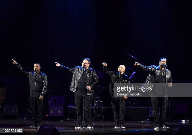 All4One performs at Las Vegas's 8th annual NF Hope Concert A Benefit for Neurofibromatosis at the Palazzo Theatre at The Palazzo Las Vegas on October...