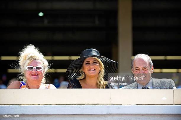 Alla Goldberg Playboy and TV personality Josie Goldberg and Paul Ryan root for her horse Only Josie Knows at Del Mar Thoroughbred Club on August 12...