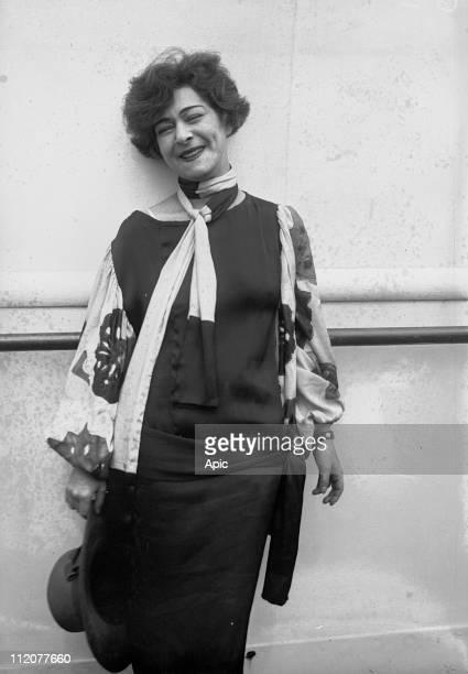 Alla Nazimova american actress from russian origins c 1925