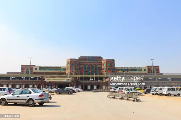 allama iqbal international airport, lahore - allama iqbal stock photos and pictures
