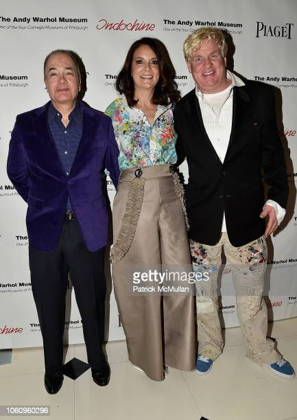 Allan Block Susan Allan Block and Peter Tunney attend The Andy Warhol Museum's Annual NYC Dinner at Indochine on November 12 2018 in New York New York