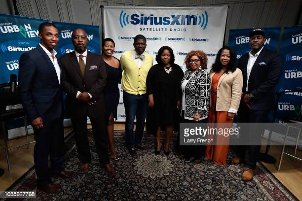 Host Sylvia Alston appears on SiriusXM Presents 'And It's Killing Us A Next Nation Symposium' hosted by Sylvia Alston at SiriusXM DC Performance...