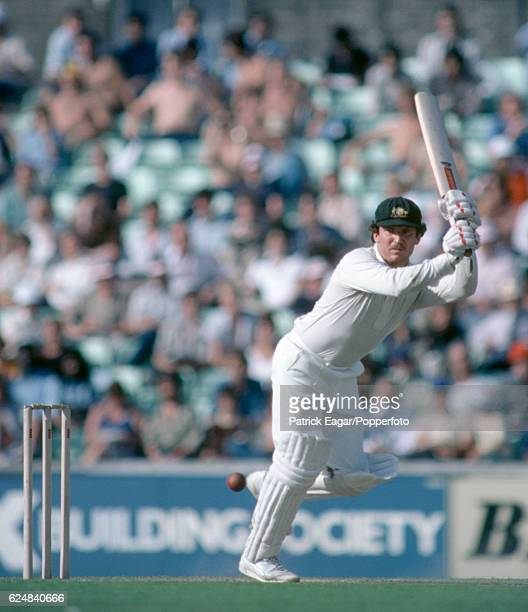 Allan Border batting for Australia during the 1st Prudential Trophy One Day International between England and Australia at The Oval London 20th...