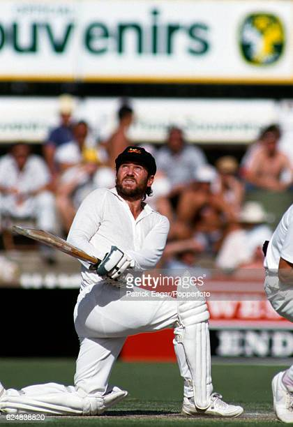 Allan Border batting for Australia during the 3rd Test match between Australia and England at Adelaide Australia 13th December 1986
