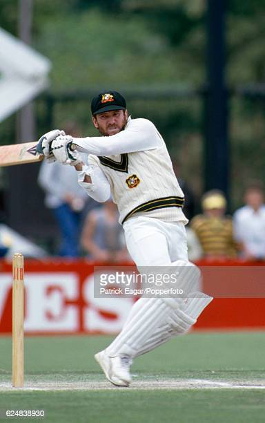 Allan Border batting for Australia during the 3rd Test match between Australia and England at Adelaide Australia 12th December 1986