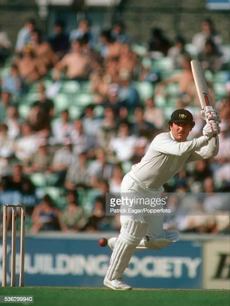Allan Border of Australia batting during the Australian tour of England in 1980
