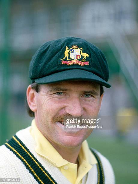 Allan Border of Australia during the 1985 tour of England at Lord's Cricket Ground London 1st May 1985