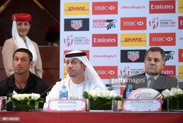Allan Bunting New Zealand Women's Coach Qais Al Dhalai Secretary General UAE Rugby Federation Boutros Boutros Divisional Vice President Corporate...