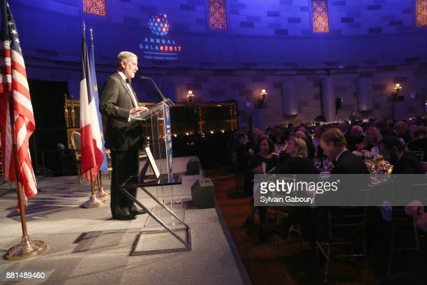 Allan Chapin attends French American Foundation Annual Gala 2017 at Gotham Hall on November 28 2017 in New York City