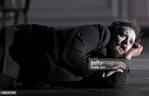 Allan Clayton as Hamlet in Glyndebourne's production of Brett Dean's Hamlet directed by Neil Armfield and conducted by Vladimir Jurowski at...