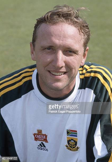 Allan Donald of South Africa at Lord's Cricket Ground London 11th May 1998