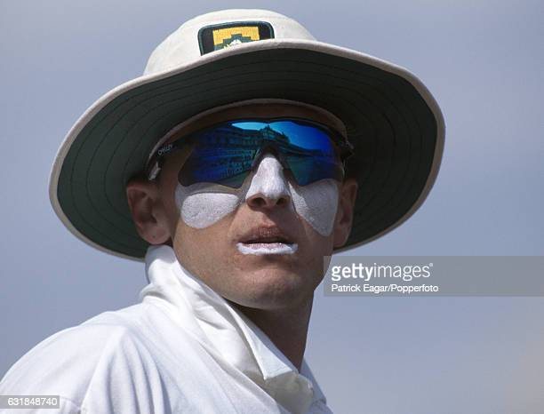Allan Donald of South Africa during the 3rd Test match between England and South Africa at The Oval London 19th August 1994