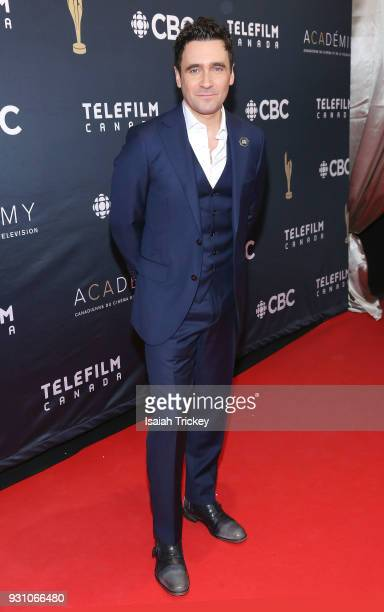 Allan Hawco arrives at the 2018 Canadian Screen Awards at the Sony Centre for the Performing Arts on March 11 2018 in Toronto Canada