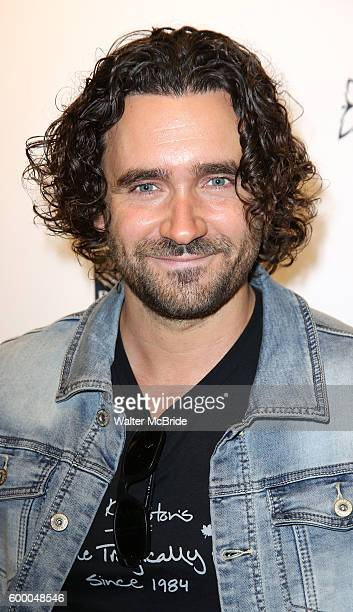 Allan Hawco attends the TIFF Soiree honoring Michael Fassbender at the TIFF BELL Lightbox on September 7 2016 in Toronto Canada