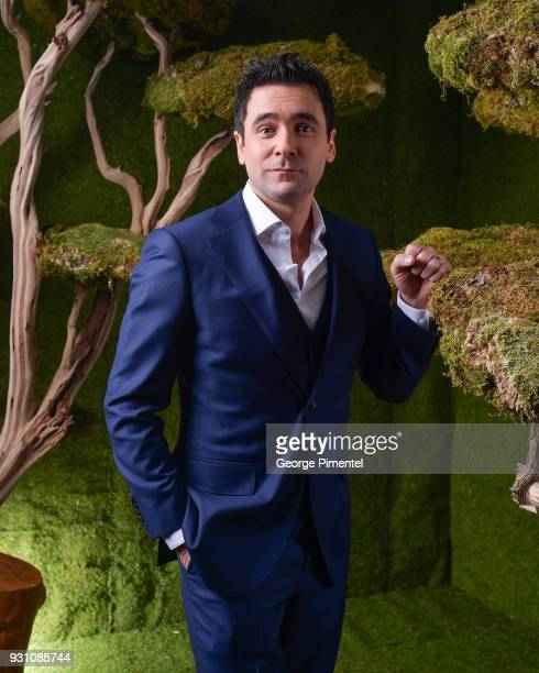 Allan Hawco poses in the 2018 Canadian Screen Awards Broadcast Gala Portrait Studio at Sony Centre for the Performing Arts on March 11 2018 in...