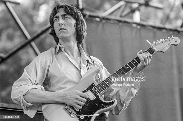 Allan Holdsworth performing with English progressive rock supergroup UK in Central Park New York City 7th July 1978 The band are supporting Al DiMeola