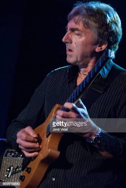 Allan Holdsworth performs on stage during Festival de Guitarra at Sala Bikini on April 8 2006 in Barcelona Spain