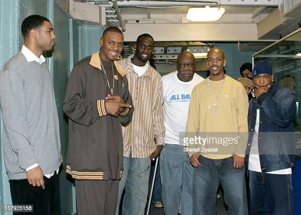 Allan Housten Anfernee Penny Hardaway Ja Rule Cal Ramsey Tim Thomas and Stephon Marbury