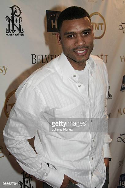 Allan Houston attends the Kenny Smith 8th Annual AllStar Bash on February 12 2010 in Dallas Texas