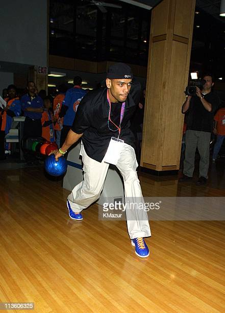 Allan Houston during Knicks Bowl 2 will benefit the Red Holzman Knicks Kids Foundation at Chelsea Piers in New York City New York United States