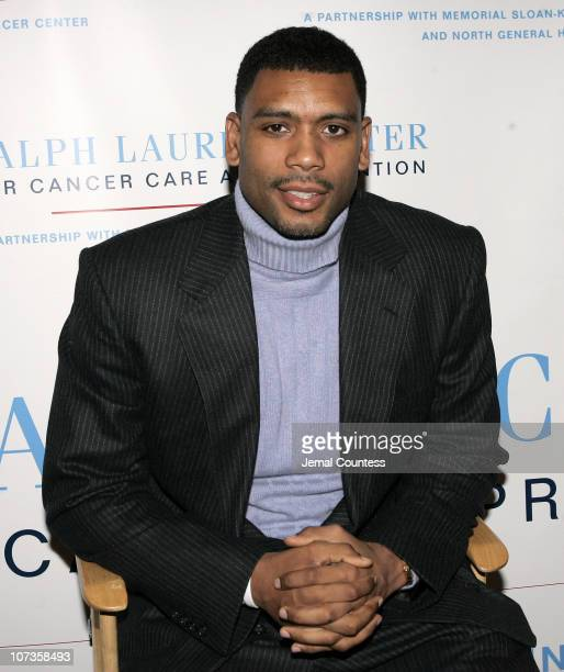 Allan Houston during The Ralph Lauren Center for Cancer Care and Prevention and the NBA Cares Program Host The Harlem Men AllStar Evening at AMC...