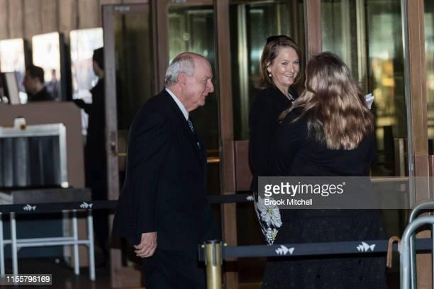 Allan Jones arrives at the Sydney Opera House on June 14 2019 in Sydney Australia Robert James Lee Hawke AC also known as Bob Hawke was Prime...