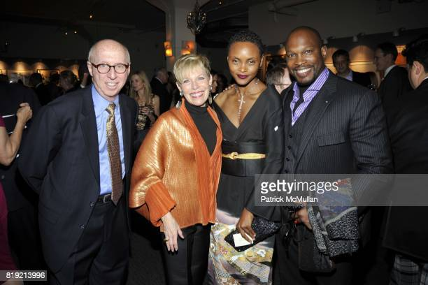 Allan Katz Penny Katz Lisa Butler and Chaz Guest attend Advocates for the Arts a Benefit Evening for the AMERICAN FOLK ART MUSEUM at Tribeca Rooftop...