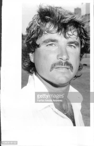 Allan Lamb English Touring Cricket Team84/85 February 13 1985