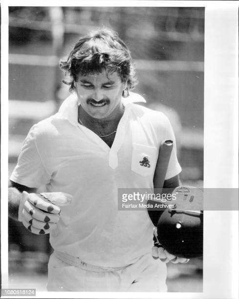 Allan Lamb February 19 1987