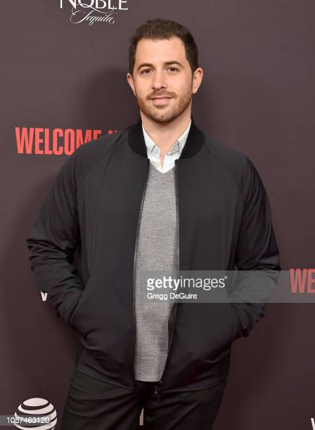 Allan Mandelbaum arrives at the Welcome Home Premiere at The London West Hollywood on November 4 2018 in West Hollywood California