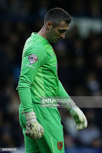 Allan McGregor of Hull City FC during the Sky Bet Championship League match between Leeds United FC and Hull City FC on December 5 2015 in Leeds...