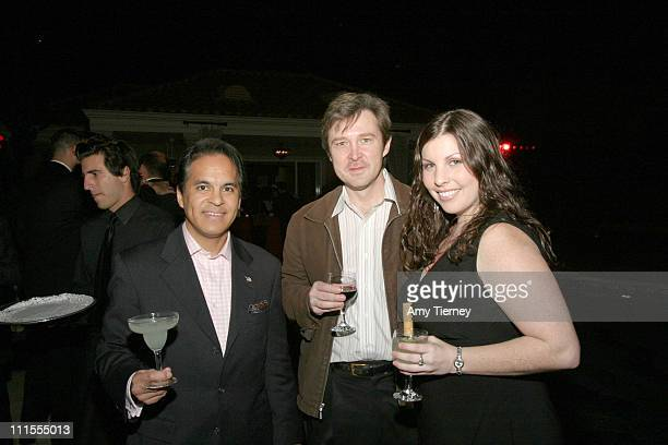 B Allan Mirasol David Urban and Melani Bruce during Frida Kahlo Tequila Launch November 15 2005 at Michael Scott Estate in Los Angeles California...
