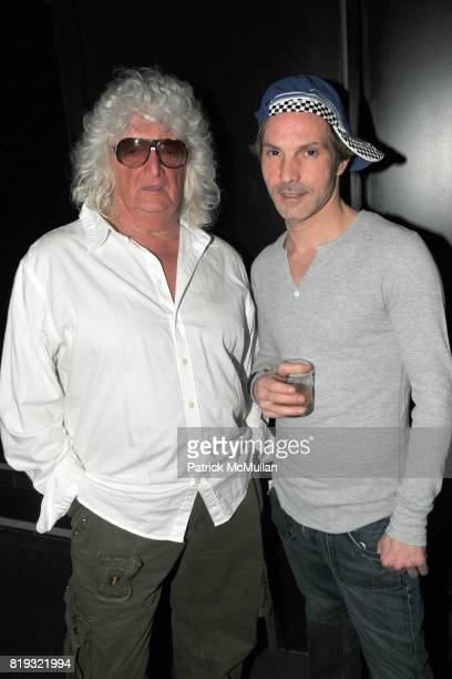 Allan Pollack and Anthony Contino attend Birthday Celebration for DIANNE BRILL Hosted by SUSANNE BARTSCH at Royalton on April 8 2010 in New York City