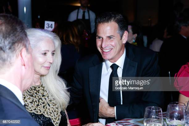Allan Pollack during the Elizabeth Segerstrom Attends American Ballet Theatre Spring 2017 Gala at David H Koch Theater at Lincoln Center on May 22...