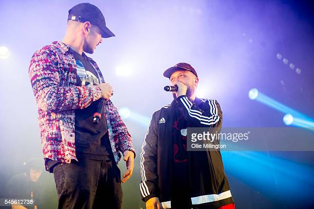 Allan 'Seapa' Mustafa performs in character as MC Grindah and Hugo Chegwin performs in character as Kevin 'DJ Beats' Bates of Kurupt FM from the hit...