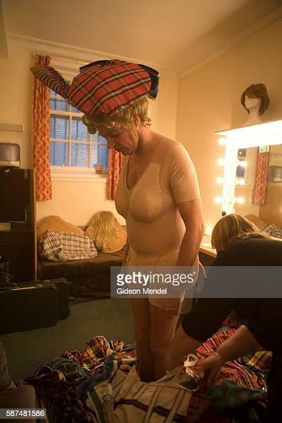 Allan Stewart, aged 56, is a singer, comedian and impressionist who is appearing as a pantomime dame in a in a lavish production of Cinderella at The...
