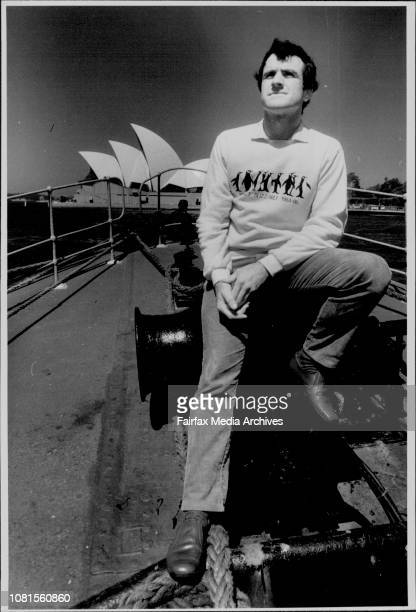Allan Thomas Grandson of Antarctic Explorer Sir Douglas Mowson in Sydney to join the crew who are down to the Antarctic to fix up the Cottage where...