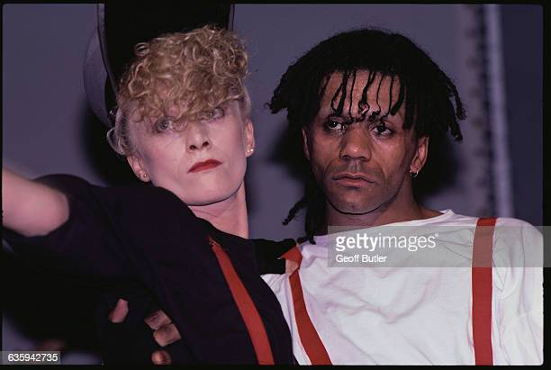 Allanah Currie and Joe Leeway of Thompson Twins