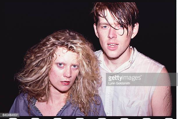 Allanah Currie and Tom Bailey of the Thompson Twins