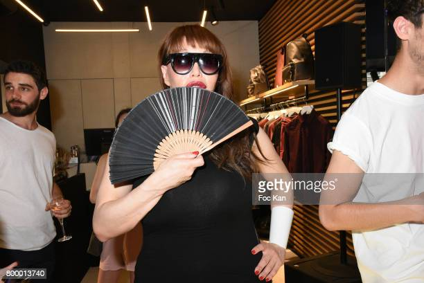 Allanah Starr attends the MX Paris Max Simoens Flagship Opening Show Party as part of Paris Fashion Week on June 22 2017 in Paris France