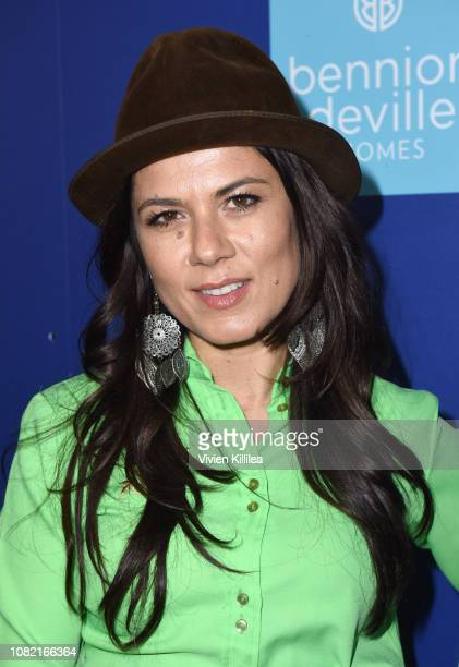 Allanah Zitserman attends the Closing Night Screening of 'Ladies In Black' at the 30th Annual Palm Springs International Film Festival on January 13...